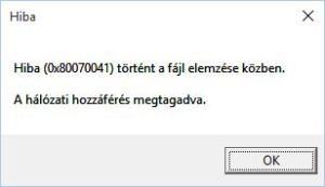 GPO-error